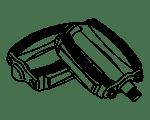 Zündapp – Verschiedene rahmenteile