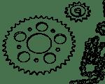 Ritzel / Kettenrad