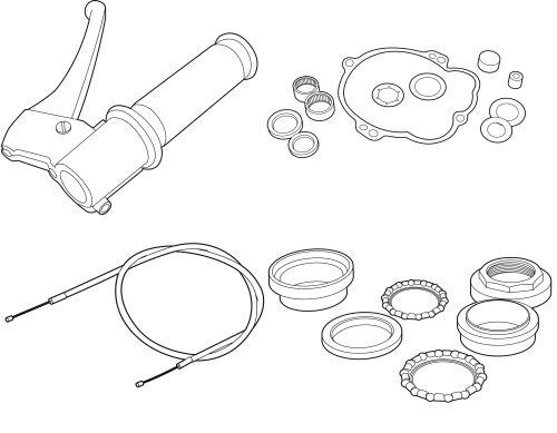 Mechanische Teile Vespa Ciao