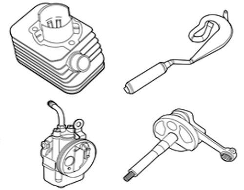 Vespa Ciao Zylinder, Vergaser, Kupplung und mehr