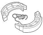 Bremsbacken, Bremsbeläge. Honda MT, MB, MTX, NSR, MBX & MTX-SH