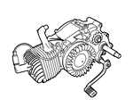 Kreidler – Motorteile
