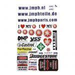 Aufklebersatz JMPB Yamaha
