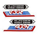 Aufklebersatz Puch Crazy Horse