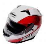 Helm Integral MT Blade Weiß/Rot