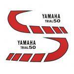 Aufklebersatz Yamaha Trial 50