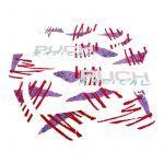 Aufklebersatz Puch Radical Violett