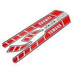 Aufklebersatz Yamaha RD50M Rot/Weiß
