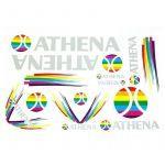 Aufklebersatz Athena 13-Teilig