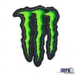 Aufkleber Monster 11X8CM